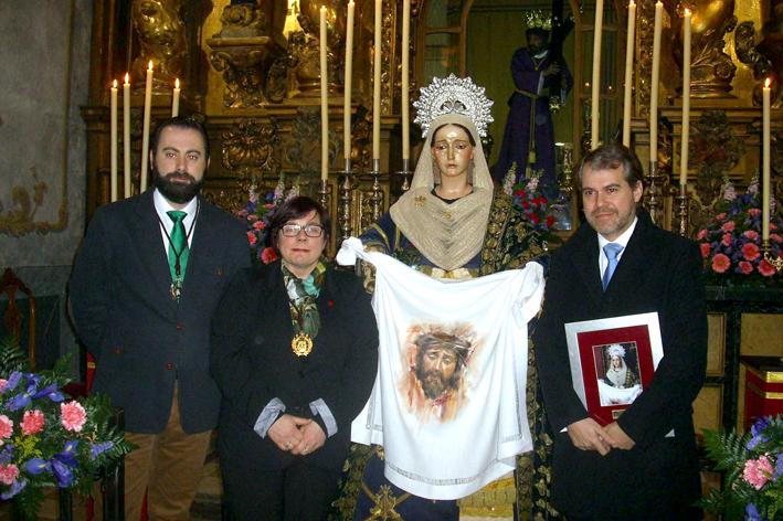 Presentación imagen Santa Marcela Semana Santa Poniente 2016