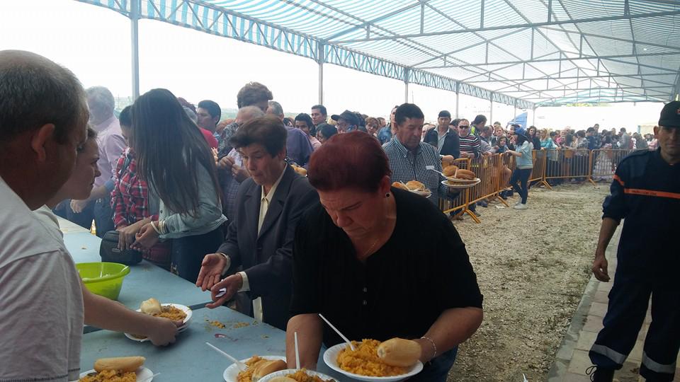 Paella Solidaria en Huétor Tájar