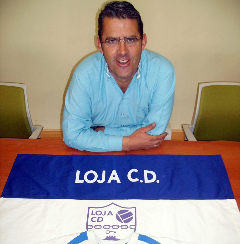 Antonio Guardeño, presidente del Loja.
