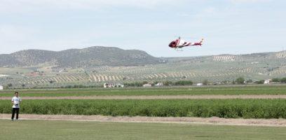 exhibición de aeromodelismo en Huétor Tájar