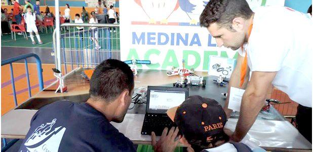 Robótica educativa en Medina Lauxa Academia