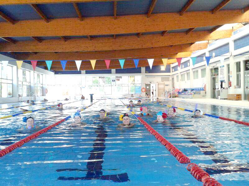 las piscinas cubiertas pronto abrir n sus puertas con