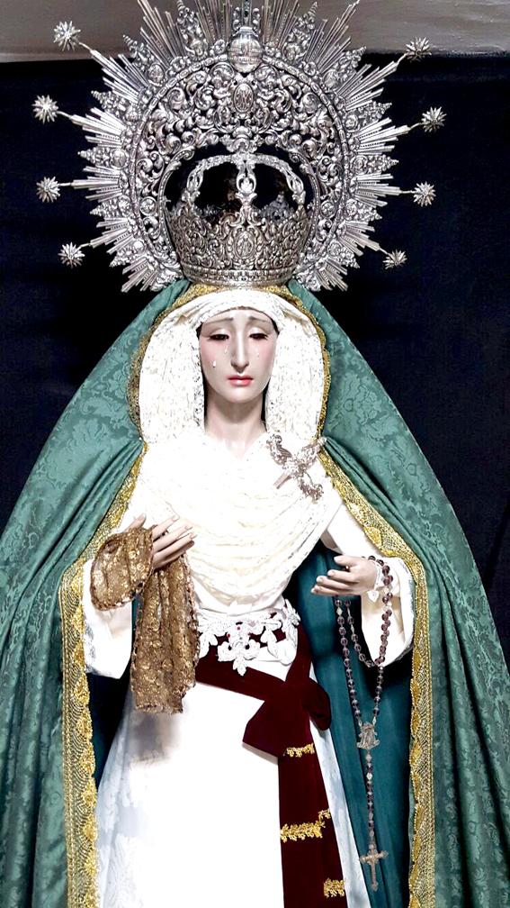 Nueva imagen de la Virgen de la Esperanza