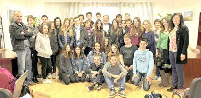 Intercambio estudiantes franceses con Huétor Tájar 2016