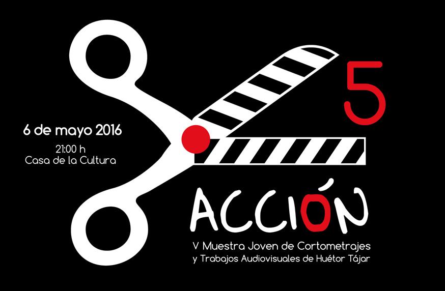 Cartel de Concurso de cortometrajes en Huétor Tájar