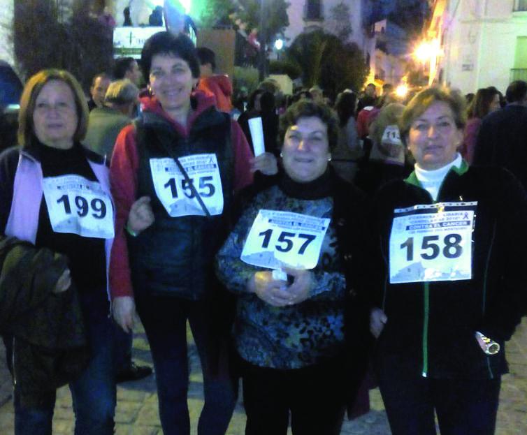 Éxito de la carrera solidaria de Montefrío