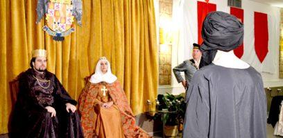 Dos Reinos Dos Culturas, teatro-cena en Loja