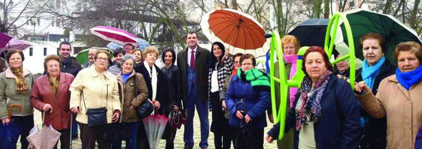 Montefrío estrena un nuevo parque saludable
